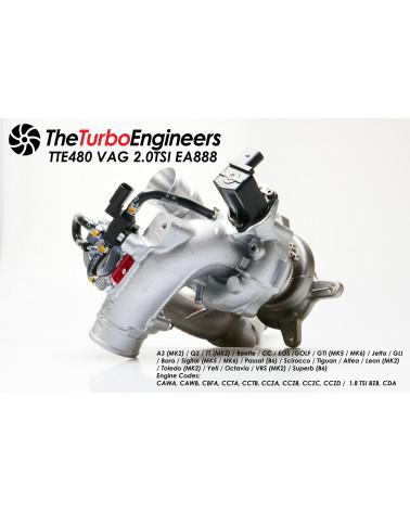 TTE480+ 9-Blade 2.0 TSI EA888 Hybrid Upgrade Turbolader Golf 6 GTI