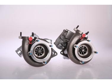TTE720 VTG Porsche 997.2 Turbo S  Upgrade Turbolader