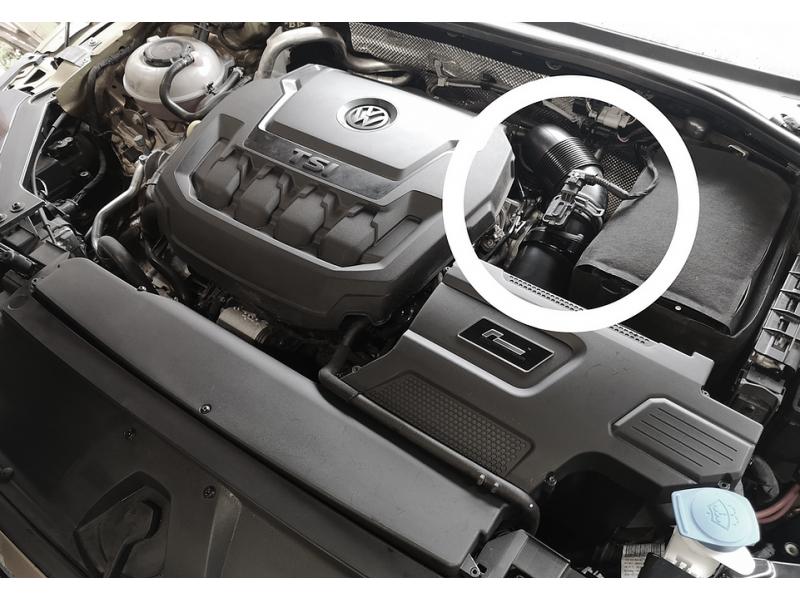 VWR Racingline R600 MAF 190PS Ansaugung MQB 2.0 TSI EA888 Gen.3 + 4 VW Golf 7 8 GTI R Audi S3 8V